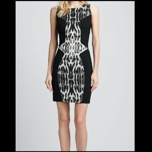 Rebecca Minkoff - Black Moulin Cocktail Dress